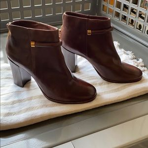 Aerin ankle boots brown 9.5 brand new